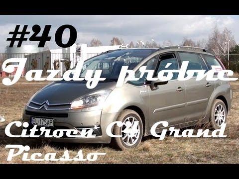 Test Citroen C4 Grand Picasso 2.0 HDI 150 KM - #40 Jazdy Próbne