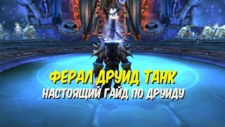 Гайд по ферал друиду танку в World of Warcraft Classic 1.12.1