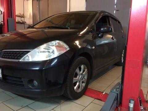 Заводится и глохнет Nissan Tiida