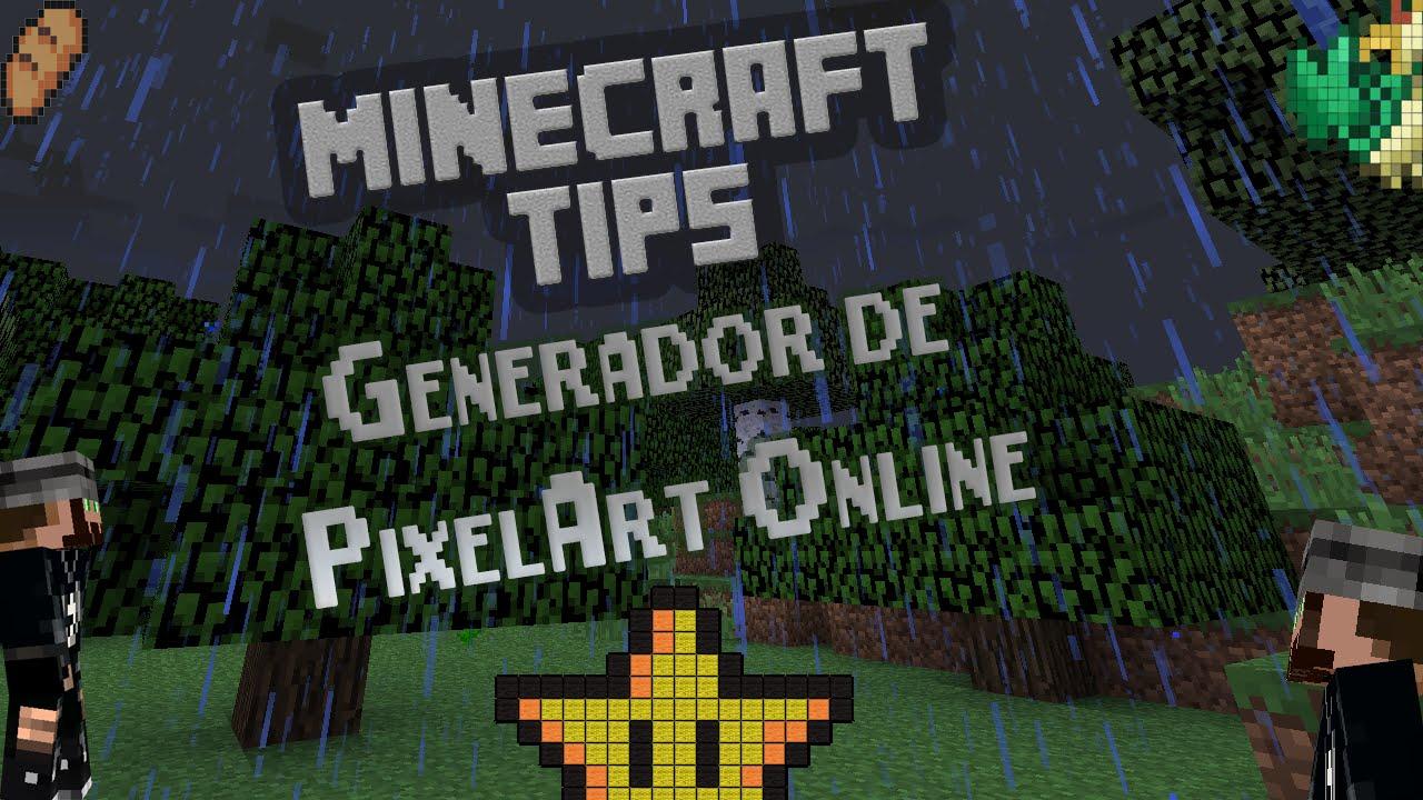 Minecraft Tips Convertir Imagen A Pixel Art En Segundos