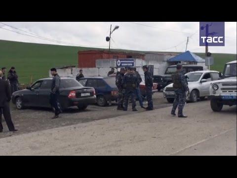 Полицейских в Ингушетии обстреляли из гранатомета и автоматов