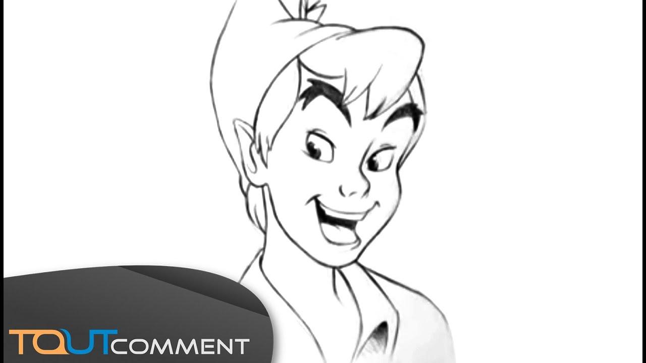 Bien connu Comment dessiner peter pan (comment dessiner un personnage de  FT88