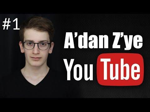 YOUTUBE KANALI NASIL AÇILIR? KANAL İSMİ BELİRLEME - Youtube Eğitim Seti #1