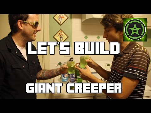Let's Build in Minecraft – Giant Creeper