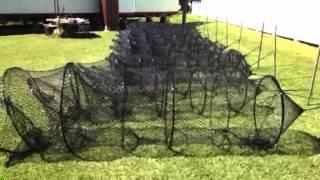 Cajun Catfish hope nets coating