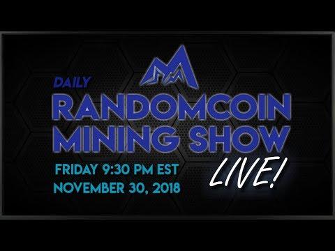 RandomCoin Mining Show LIVE! ⛏ - Dinero (DIN) - NeoScrypt