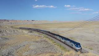 Amtrak in the Desert - rail fanning the California Zephyr in Eastern Utah
