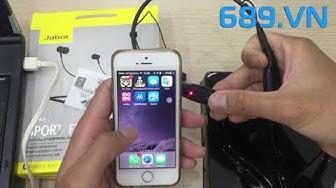 Tai Nghe Bluetooth Không dây 2 Bên Tai Jabra Review Và Cách Kết Nối Điện Thoại
