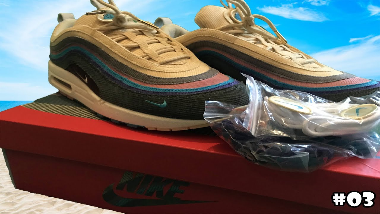 Nike Air Max 1/97 Sean Wotherspoon + on foot (From Kickze)