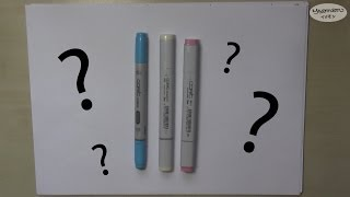 """Which Copic Marker Type Should I Purchase? (""""the Incomplete Copic Guide"""" Part 1)"""
