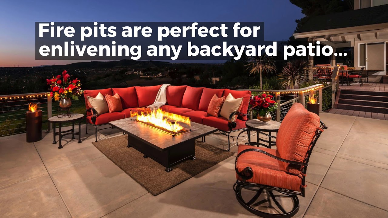 Consider An Outdoor Fire Pit This Season From Ultimate Patios
