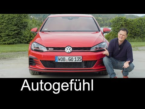 VW Golf GTI Performance FULL REVIEW Volkswagen Facelift new neu 2018 - Autogefühl