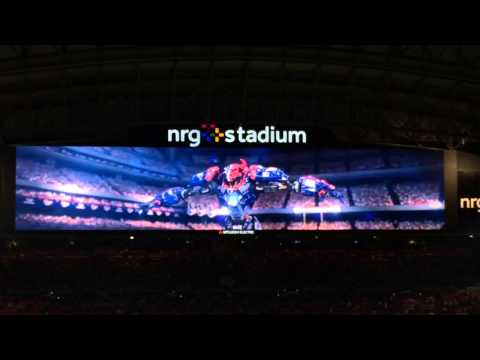 Houston Texans vs Colts entrance video