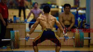 Olympic Weightlifting Training in China
