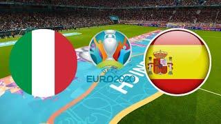 ИТАЛИЯ ИСПАНИЯ 4 2 ОБЗОР МАТЧА ЕВРО 06 07 2021 ФУТБОЛ ВИДЕО ГОЛЫ СЕРИЯ ПЕНАЛЬТИ ПОЛУФИНАЛ FIFA 21