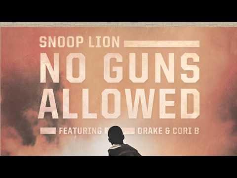 No Guns Allowed (feat. Drake & Cori B.) [Lyric Video]