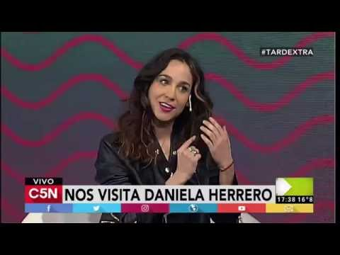 C5N - TardeXtra: Daniela Herrero presenta su show en la Trastienda