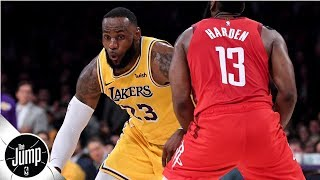 The Lakers' season comes down to LeBron being great – Brian Windhorst | The Jump