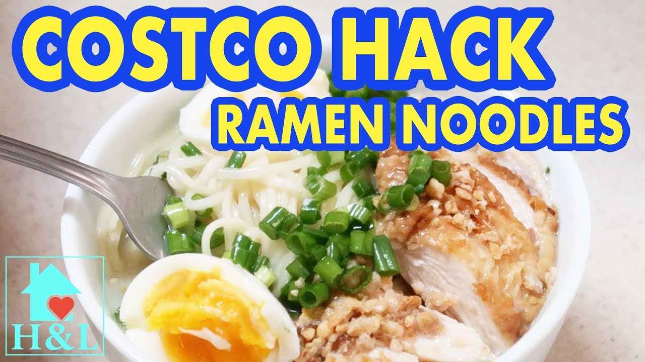 Costco Hack Ramen Noodles Health And Lifestyle Youtube
