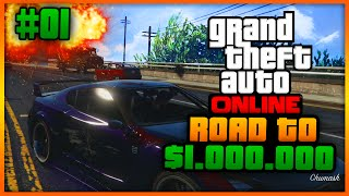Grand Theft Auto 5 - Road To $1.000.000 - Denniskuhh