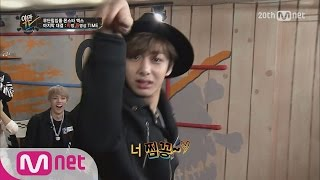 HyungWon of MONSTA X performs mantis dance(몬스타엑스의 비쥬얼 형원의 사마귀댄스!)ㅣYamanTV Ep.19