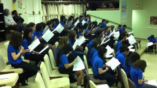 8th Grade Mixed Choir Sight Singing Middle School