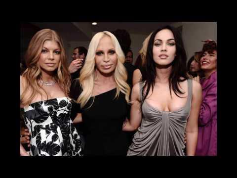 Донателла Версаче (Donatella Versace) musical slide show