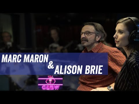 Alison Brie & Marc Maron discuss 'Glow', Wrestling and 'The Disaster Artist'  Jim & Sam