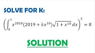 Solution 71: Forcing the u-Substitution to Work