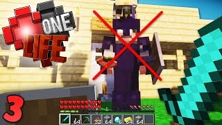 I might get in trouble for this.. 😳 Minecraft One Life SMP EP3