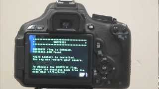 How to Install Magic Lantern v2.4 on Canon 60D/600D