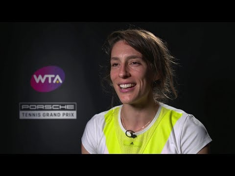 Interview Andrea Petkovic (GER) – Porsche Tennis Grand Prix 2019
