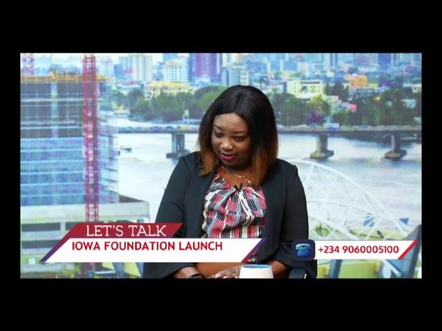 Agatha Amata talks about (IOWA) foundation  (Part A)