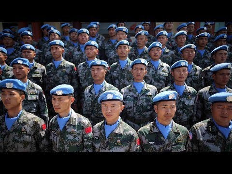 China Grows Presence Of UN Peacekeeping Troops