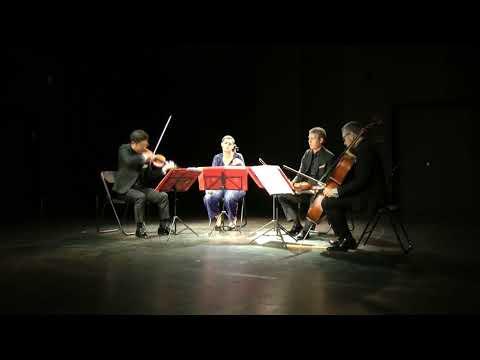 Alberto Posadas. Liturgia fractal. Quatuor Diotima