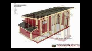 M101 - Free Chicken Coop Plans - How To Build A Chicken Coop - Backyard Chicken Coop Plans Free