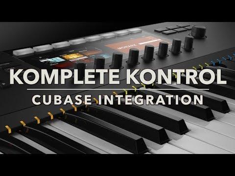 KOMPLETE KONTROL Cubase Integration