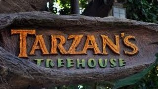 Disneyland, Tarzan's Treehouse in Adventureland Full HD Tour POV
