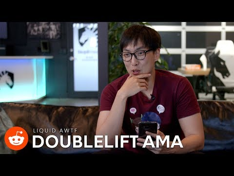 """""""NALCS, no clue. Internationally, Uzi is the best"""" - Doublelift on AD Carries during the AWTF AMA"""
