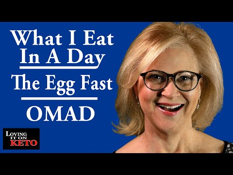 what-i-ate-in-a-day-//-lose-weight-//-egg-fast-//-omad-//