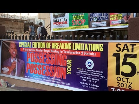 BREAKING LIMITATIONS WITH PASTOR J. F. ODESOLA