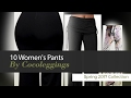 10 Women's Pants By Cocoleggings Spring 2017 Collection