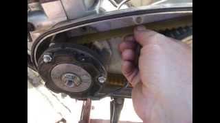 Norton cafe racer belt drive problem Classic bike Repairs Glasgow