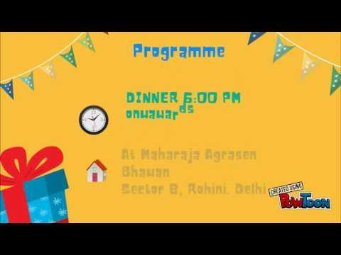 Kua Poojan Invitation By Komal Gupta