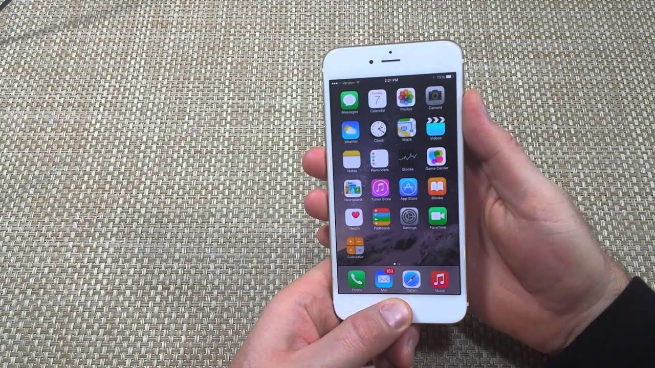 6 Plus On Iphone Stays Apple Screen: Apple IPhone 6 & 6 Plus How To Take Or Capture A Screen