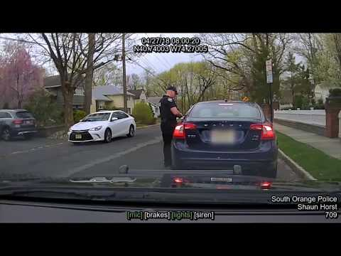 """'Skinhead cop!"""" NJ school official freaks out at police"""