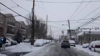 Snow newark NJ February 9 2017