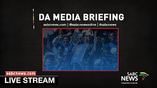 DA Media Briefing following the election of the Interim Federal Leader and Chairperson