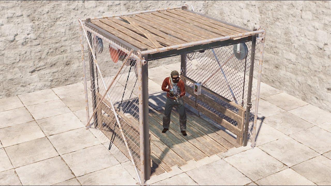Rust - Лифт! Новый строительный блок!