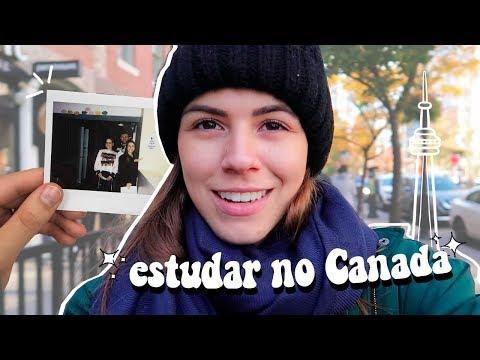 COMO ESTUDAR E MORAR NO CANADÁ   Mi Alves
